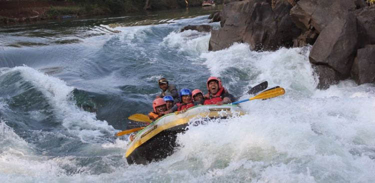 Rafting in Kaligandaki River