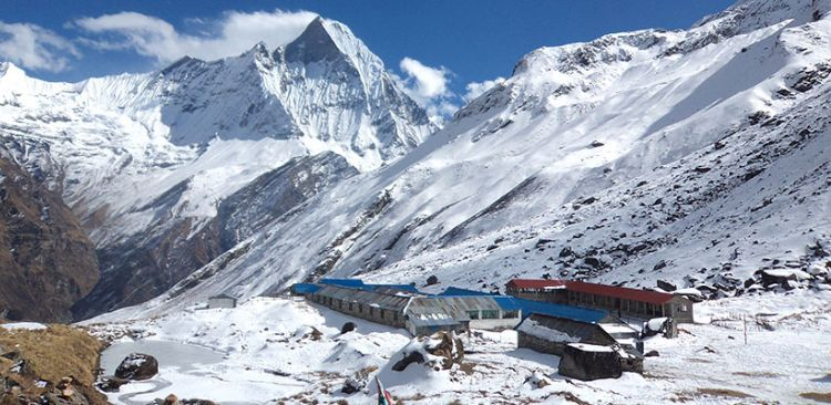 Annapurna Base Camp 4,130 M (ABC)