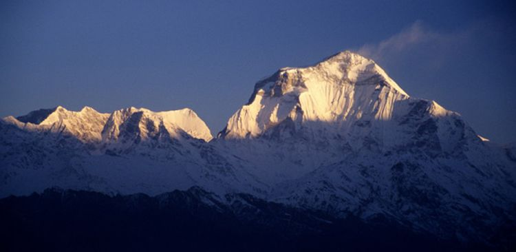 MT. DHAULAGIRI 8,167M FROM POONHILL