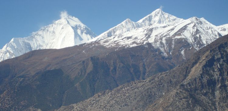 MT DHAULAGIRI AND TUKUCHE PEAK