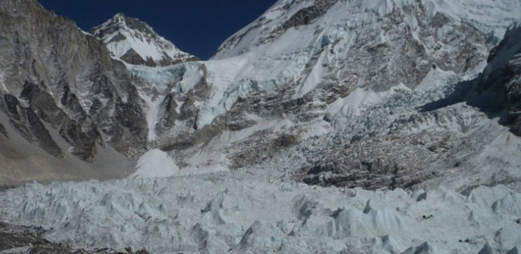 Ice fall glacier, Khumbu
