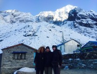 Annapurna base camp 4130m