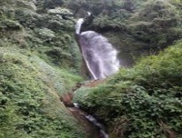 Waterfall in Annapurna base camp trek