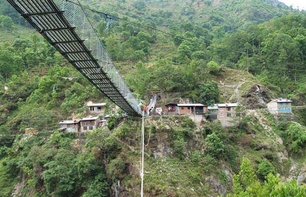Bunge jumping in Nepal